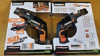 WORX WX255 SD Slide Driver 4 V Lithium Screw Driver With Screw Holder
