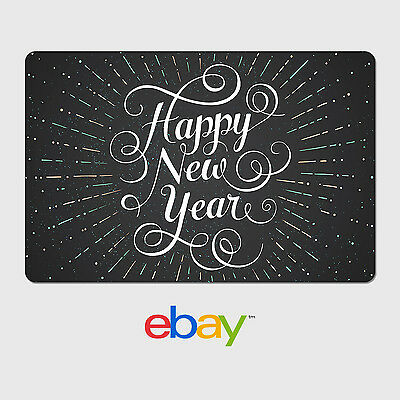 eBay Digital Gift Card - Happy New Year - Email Delivery