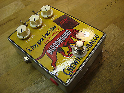 TTA Hick Overdrive Pedal ,Mosfet Overdrive Pedal Hand Wired Custom Artwork