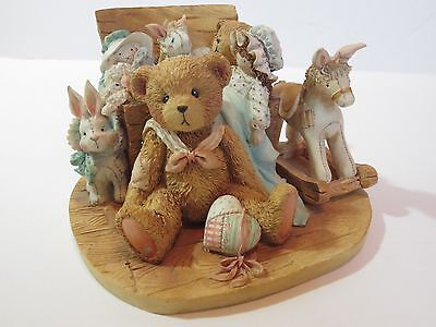 """RARE Cherished Teddies Christopher """"Old Friends Are The Best Friends"""" 950483"""