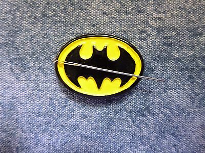 Batman Needle Minder Cross Stitch