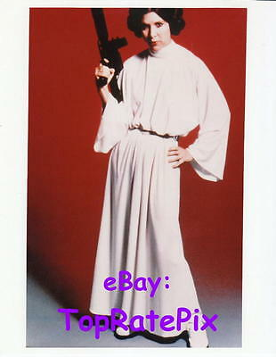 CARRIE FISHER  -  as Princess Leia (Star Wars)  8x10 Photo  #3