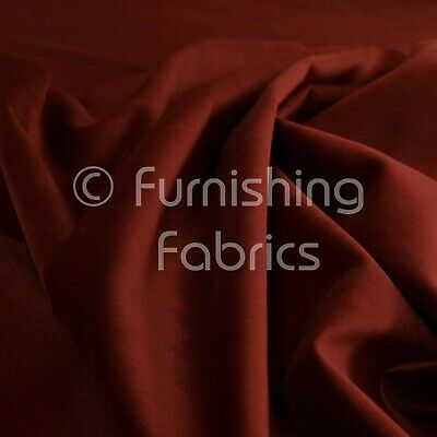 New Soft Plush Plain Glossy Velvet Modern Upholstery Curtain Fabrics In Burgundy