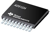 ADS1224 UG4 Precision 24bit ADC Analog-to-Digital Converter TSSOP x 5pcs