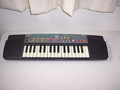 Concertmate Casio SA-35 Digital Keyboard Synthesizer with 100 Tones