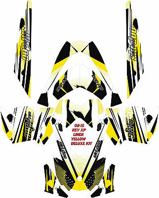 Snowmobile-Ski-Doo-Wrap-Kit-Rev-Xp-Xr-Xs-Xm-03-16-Liner-Basic     Snowmobi