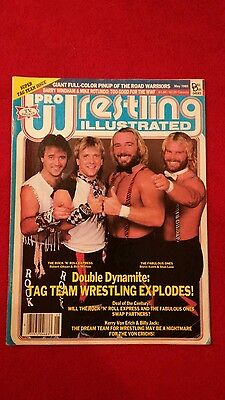 Pwi Wrestling Magazine May 1985 Super Tag Team Issue .
