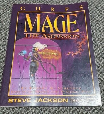 GURPS Mage The Ascension - Softcover - Steve Jackson Games 6068