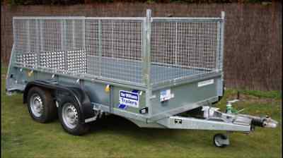 Ifor Williams Trailer Gd105 Flat Bed Trailer - Plant Trailer - Brand New