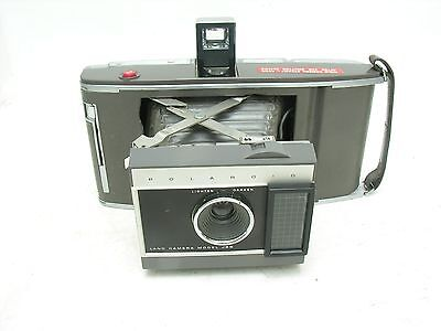 ++ POLAROID J66 Land camera with Case, ++ Clean Condition For display
