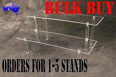 Acrylic Display Stand; Two Tier; Collectable; Jewelry