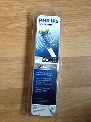 Philips HX9044/26 Sonicare Adaptive Clean Brush Heads, 4 Pack, new and sealed