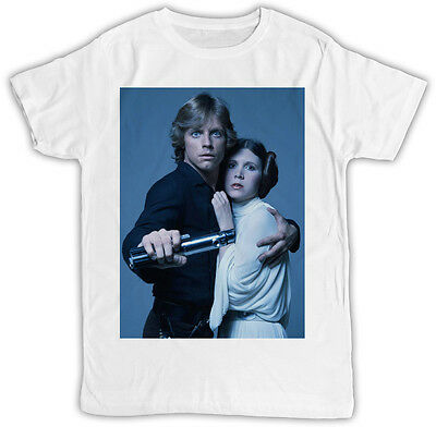 PRINCESS LEIA CARRIE FISHER POSTER IDEAL GIFT BIRTHDAY PRESENT COOL RETRO TSHIRT