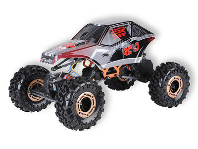 Redcat Racing Rockslide RS10 XT RED 1/10 Scale RC Crawler 2.4GHz