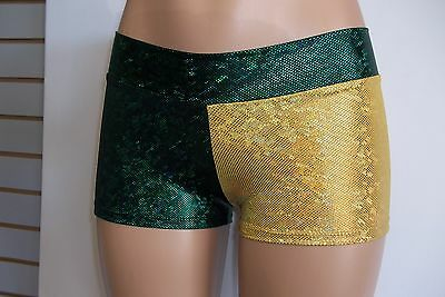 Women/ladies, Nfl Green Bay Packers Booty Shorts-Team Sports-Football-Cheer-Rave