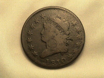 1810 Classic Head Large Cent!