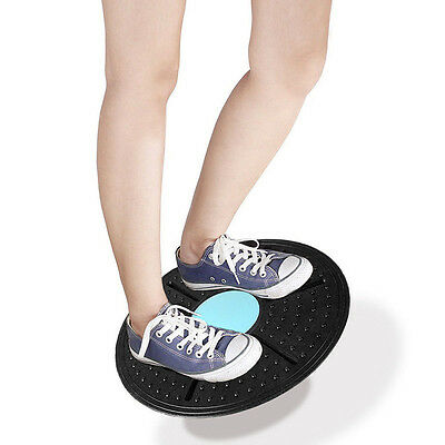 Gym Training Fitness Exercise Stability Wobble Disc Balance Board Workout Tool