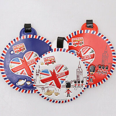 British London Flag & Soldiers Luggage Tag Boarding Tag Gifts Souvenirs