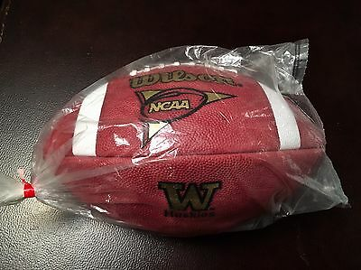 Washington UW Huskies Wilson 1001 Game Football (late 1990s / Early 2000s): NIB