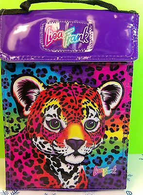 Vintage Lisa Frank Neon Leopard Lunch Bag Collectible