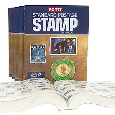 2017 Scott Worldwide Stamp Catalogue (all 6 volumes)