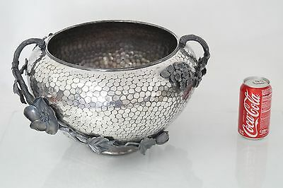 Antique American Silver Plated Large Planter Magnificent Quality 19C