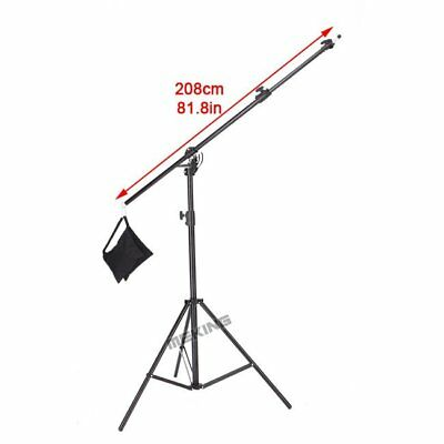 395cm13ft M-2 Double Duty Multi Function Light Stand & Boom Stand with Sand Bag