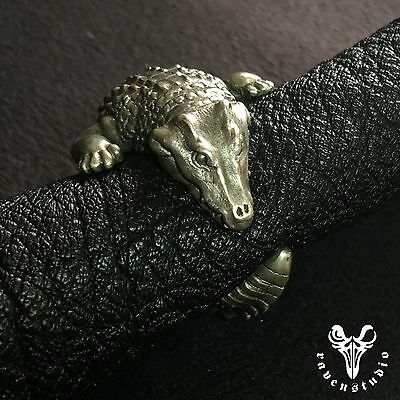 Original Design Alligator 925 Sterling Silver Ring Customized Collection Classic