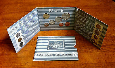 """1987 Mint Set Uncirculated Coin Collection Royal Australian Mint """"free Postage"""""""