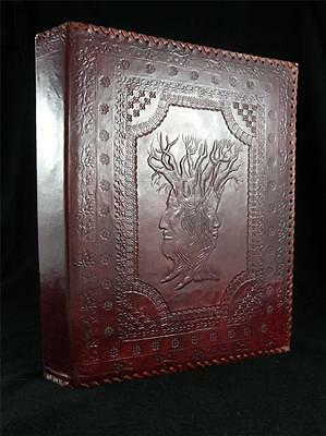 TREEBEARD - Lord of the Rings - Leather A4 Ring-Binder - Choice of 3 or 4 Rings