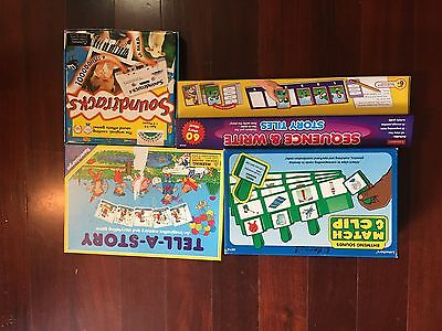 Lot 4 Language Arts, Speech Therapy Games Auditory Processing Story Telling