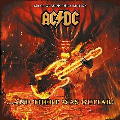 AC/DC And There Was Guitar! In Concert Maryland 1979 180gm vinyl LP NEW/SEALED