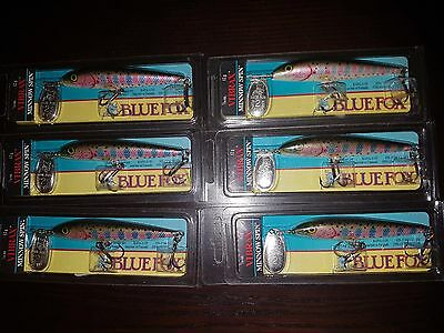 Blue Fox Minnow Spinners 7/16 (3.5 Inches) RARE