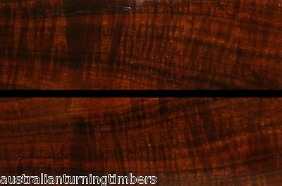 Australian Ringed Gidgee Wood Knife Scales / Handles (Bookmatched)