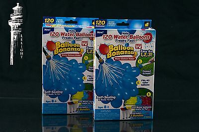 Balloon Bonanza 120 Water Balloons  3 Bundles Of 40 (As Seen On Tv) Lot Two