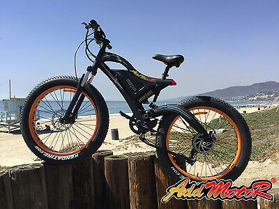 Addmotor MOTAN Electric Bicycle Mountain Ebike 500W For Beach Snow Cycling M-850