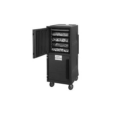 Cambro CMBPHHD615 Combo Cart™ Plus Insulated Transport Cabinet - Charcoal