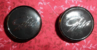 Genuine FORD AU FAIRMONT GHIA interior door plugs/badges VGC
