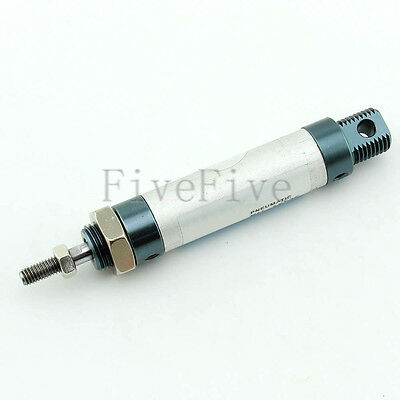 Mini Pneumatic Air Rod Cylinder with 25/50/75/100 mm Stroke Inner Dia 16/20/25mm