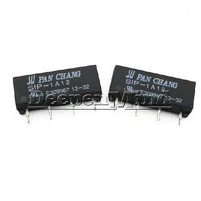 12V Relay SIP-1A12 Reed Switch Relay 4PIN for PAN CHANG Relay