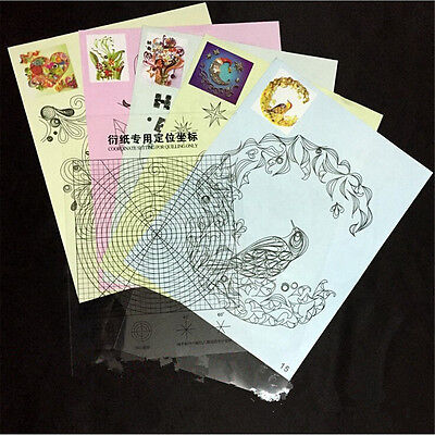 18Pcs Release Drawing Locating Paper Craft DIY Quilled Creations Quilling Tool