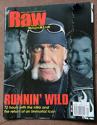 WWE WWF Raw Magazine May 2002 Hulk Hogan
