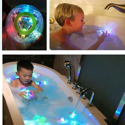Party In The Tub Toy Bath Water Led Light Kids Waterproof Children Disco Toys Lh