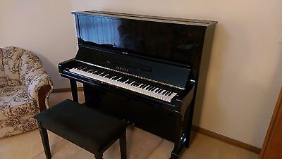 Yamaha U3 Professional Upright Piano (with Steinway strings!)