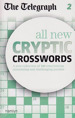 The Telegraph All New Cryptic Crosswords vol 2 BRAND NEW BOOK (Paperback 2012)