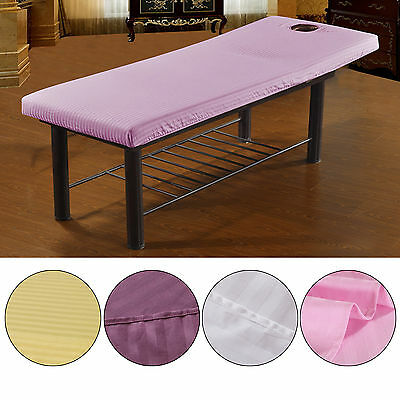1xBeauty Massage Therapy Bed Table Elastic Cover Couch sheets + Face Breath Hole