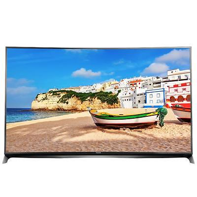 Panasonic TX-55CR850E, TV LED Curvo 3D, 4K, Black