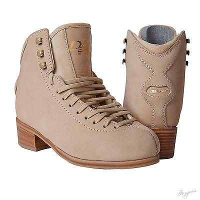Graf Dance junior Figure Skates Beige BOOT ONLY - box size 4.5 L - Free Postage