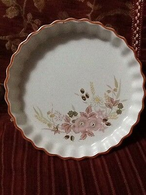 Boots Hedge Rose Flan Dish 21Cm Diameter