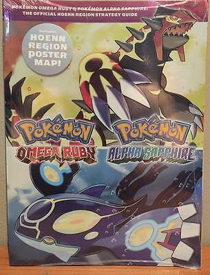 Pokemon Omega Ruby/alpha Sapphire Official Game/strategy Guide Booklet